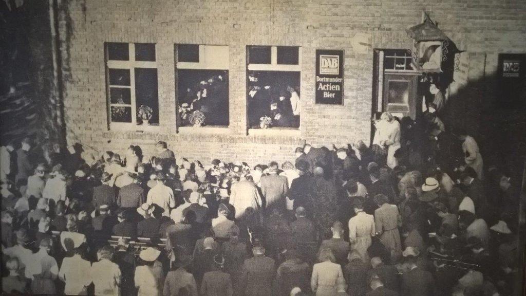 Notgottesdienst Keull 1945