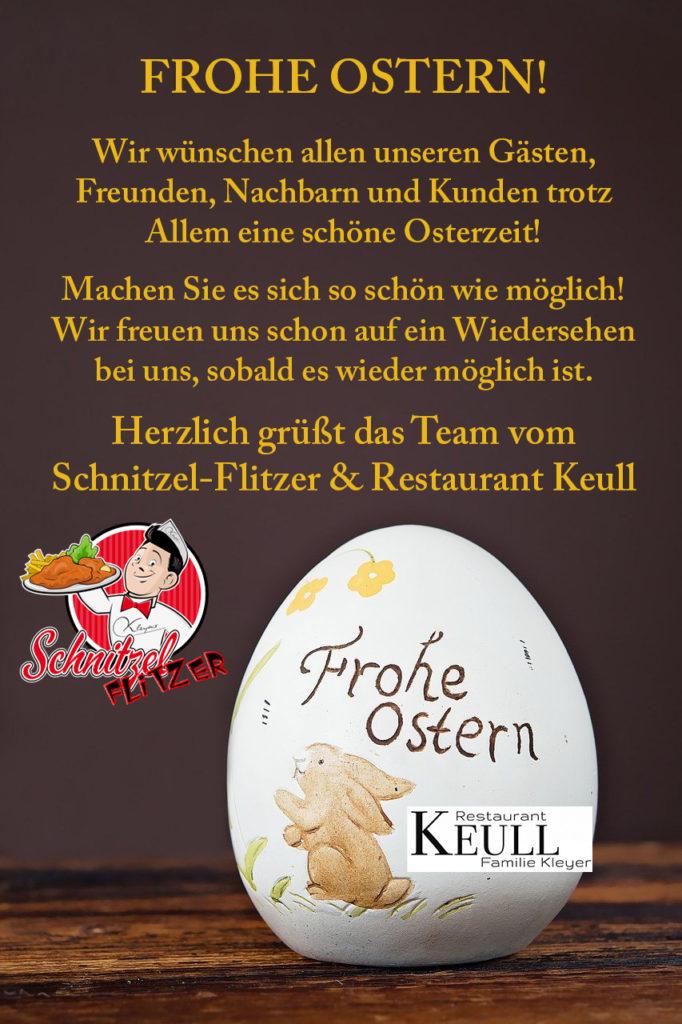 Ostergrüße Schnitzel-Flitzer Keule
